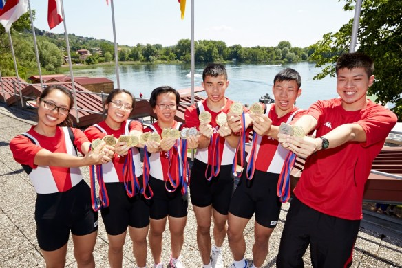 LTA Mixed Coxed Four  1000m_