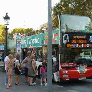 Barcelona hop on hop off Bus Turistic