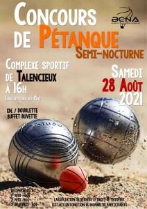 Read more about the article Concours de Pétanque Semi-Nocturne.