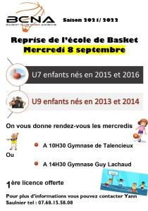 Read more about the article Créneaux d'entraînements des equipes de jeunes saison 2021-2022.
