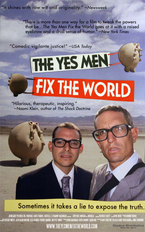the yes men fix the world-cartell