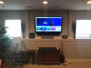 Integration with home automation, Fiber optic installation, Network data cabling, low voltage cabling services for new construction, low voltage cabling services for older buildings, new construction pre-drywall cabling for custom audio, visual, network, and security system, Sony Televisions, Hartland, WI
