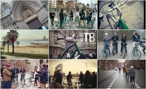 Ruta en bici por Barcelona