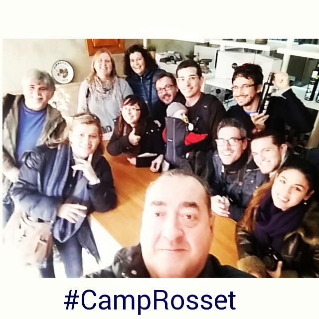 Bloggers en Ca Rosset (Foto: Gema Santiago)