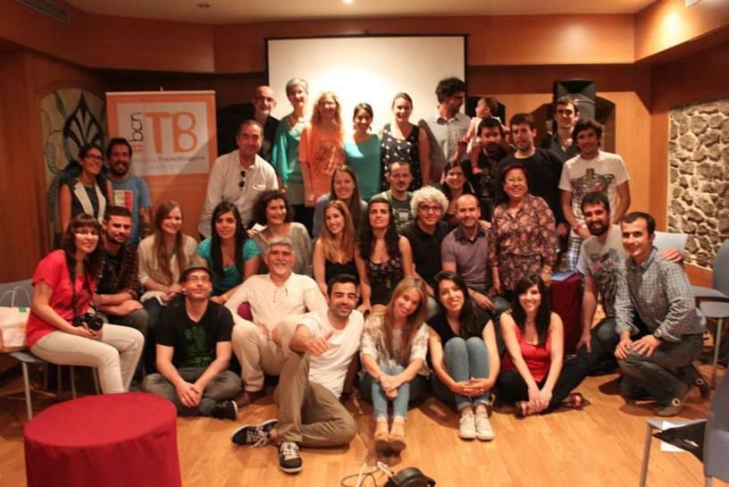 Foto de familia de los socios de BcnTB