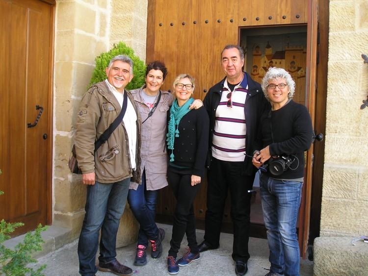 Bloggers de BcnTB en Torre Fuerte Rural.
