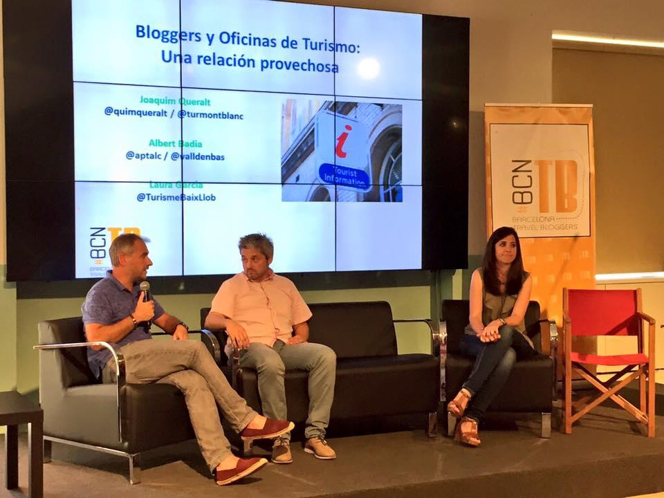 Los bloggers y las oficinas de turismo, una de las charlas con muchas preguntas. |Foto: Arlene Bayliss