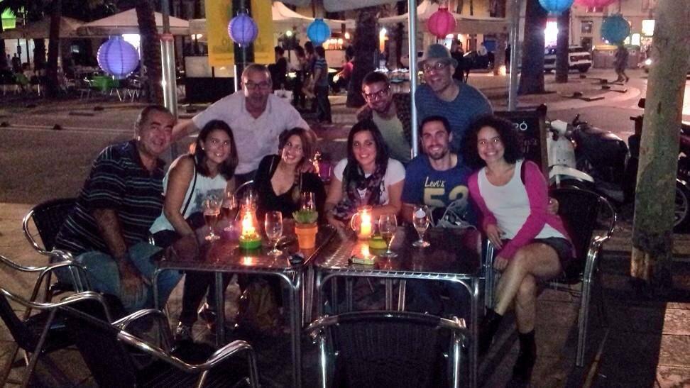 Despedida de de Cristina y José Alejandro de Ahora Toca Viajar, Latinoamérica sin billete de vuelta. Octubre 2014