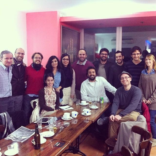 El primer encuentro del año 2014