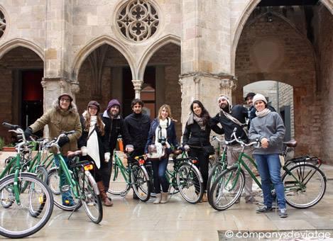 Descubriendo los rincones de Barcelona en bicicleta. Junio 2014