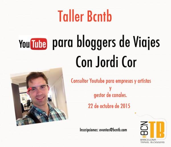 Taller: Youtube para Bloggers de Viajes