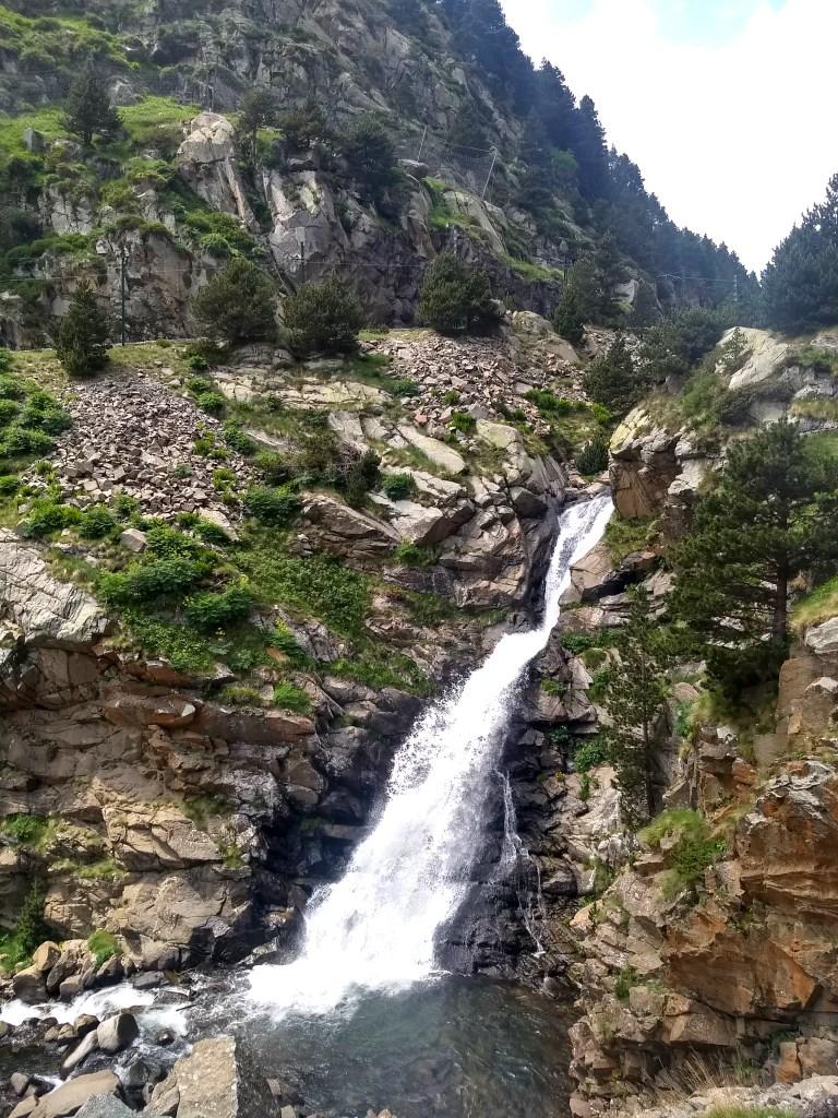 Cascada Vall de Núria