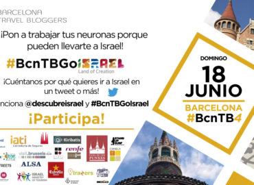 ¡Gana un viaje para dos a Israel durante el #BcnTb4!