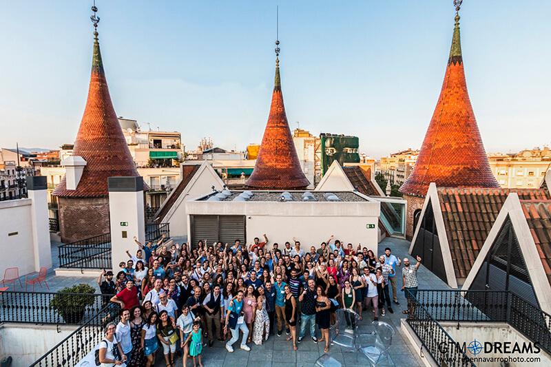 Cuarto Aniversario Barcelona Travel Bloggers