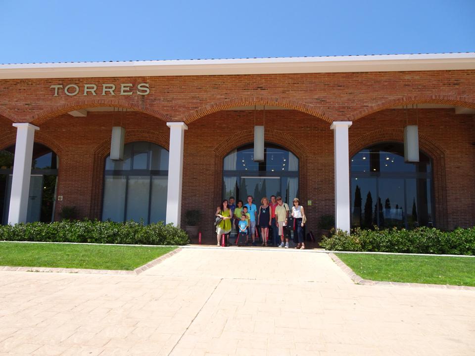 Visita a las Bodegas Torres en el cuarto aniversario de Barcelona Travel Bloggers