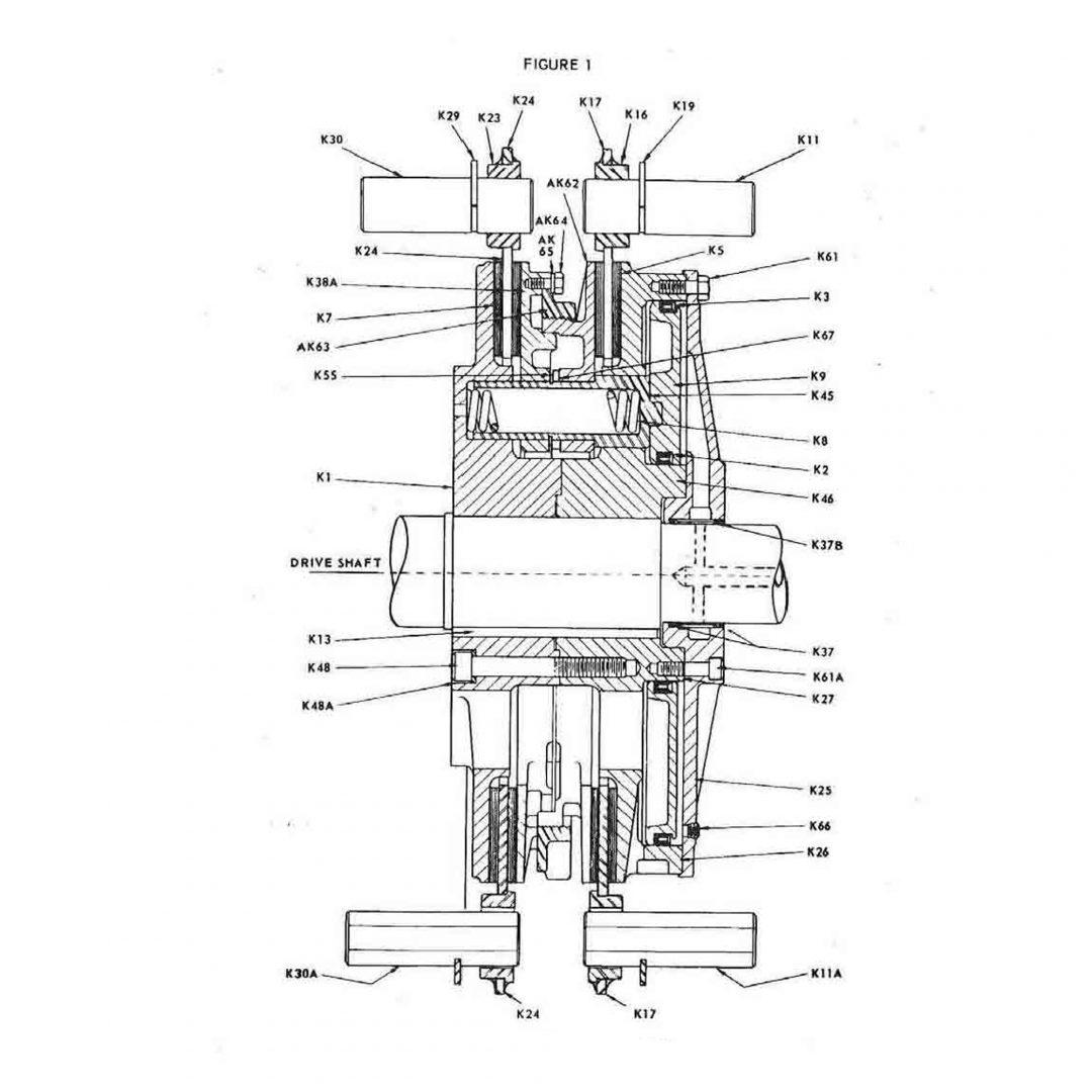 Type Ak Adjustable Disc Air Friction Clutch Amp Brake