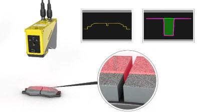 perfilador láser 3D cognex