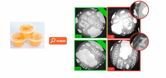 Aplicación Inteligencia artificial para control de termosellado en cualquier producto lácteo envasado