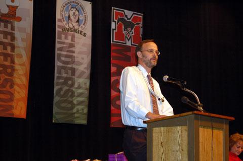 Craig Cheney, School Board chair