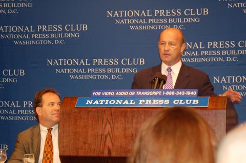 Stan Kasten Addresses the National Press Club