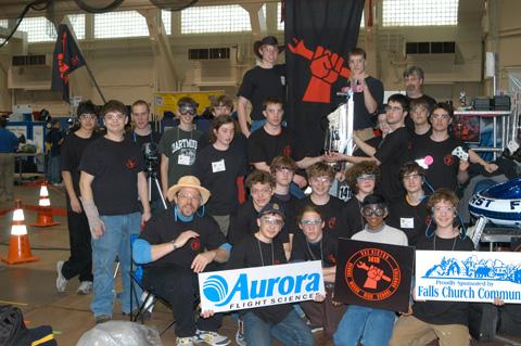 Mason Robotics Team Finishes 8th, Advances to National Competition