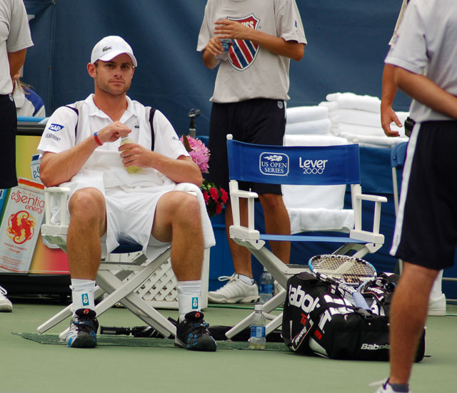 While upstart John Isner threw a scare into Roddick, the tournament's top seed ultimately prevailed and ended the UGA graduate's Cinderella story