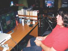 GEORGE MASON HIGH GRADUATE Austin Lucas prepares to dominate the dorms at the University of San Diego with his Halo 3 skills. (PHOTO: NEWS-PRESS)