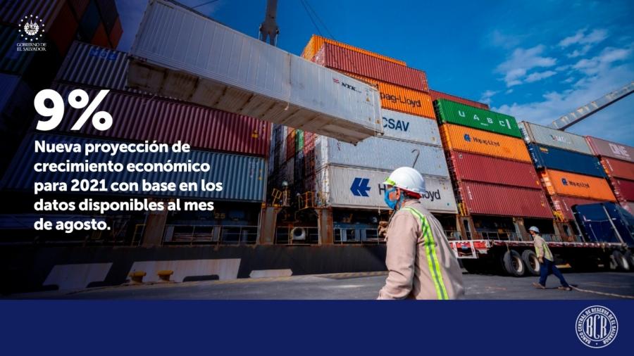 BCR proyecta crecimiento económico del 9% a finales 2021