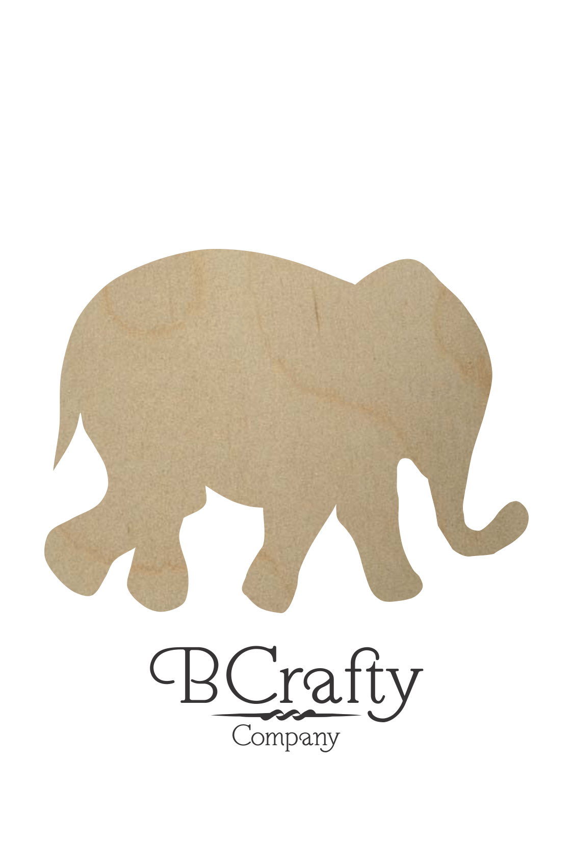 Wooden Elephant Cut Out