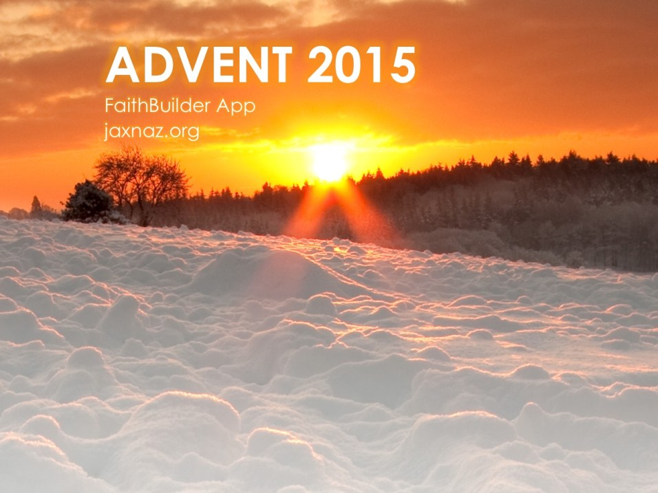 2015 Advent – December 23: Psalm 98:1-6