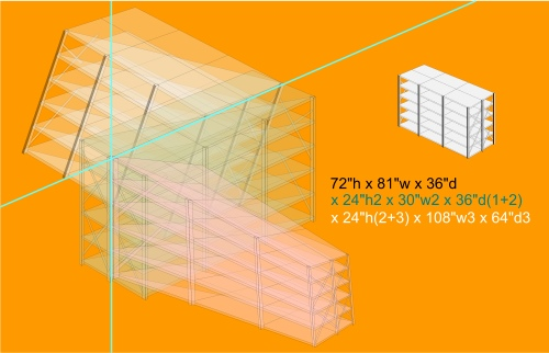 Shelving Diagram by Paul Smedberg