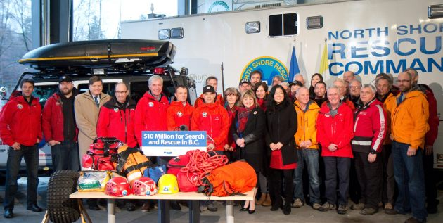 Province announces 10 million dollars for SAR