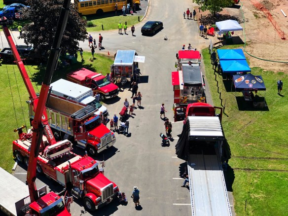 Aerial view from Truck 2