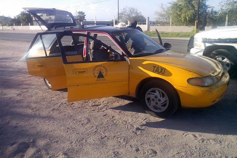 asalto taxi la paz 2