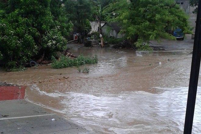 lluvia inundaciones todos santos 2
