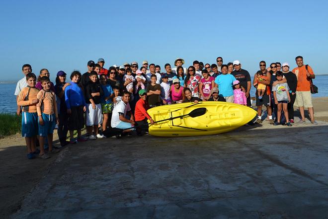 Mar de Cortés deporte kayak ejercicio 8