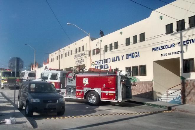 bomberos colegio