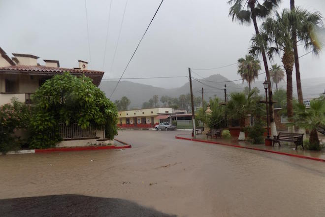 lluvia depresion tropical santa rosalia