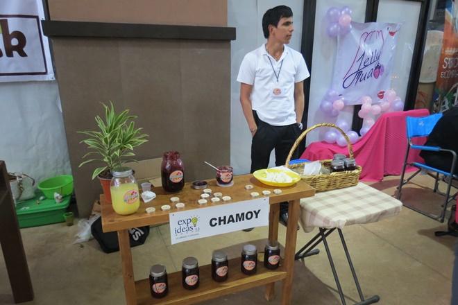 expo ideas chamoy