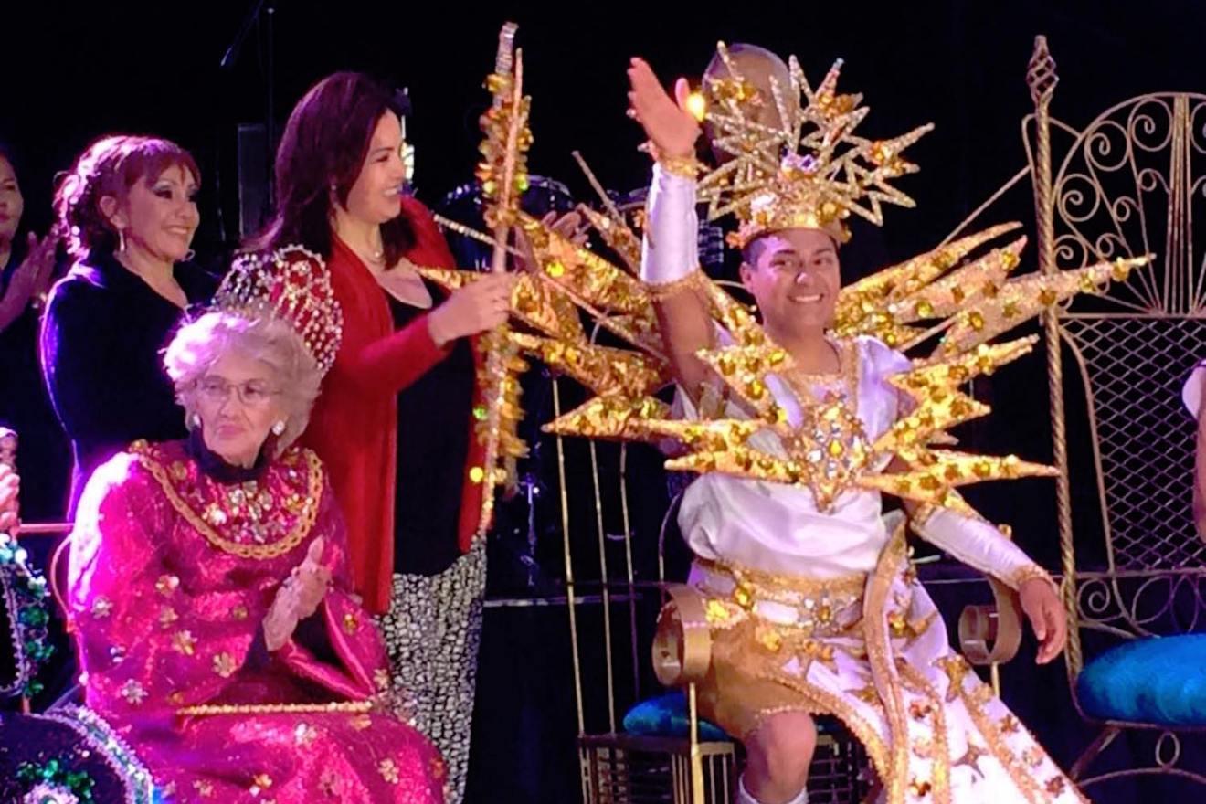 ismael rey alegria carnaval la paz 2016
