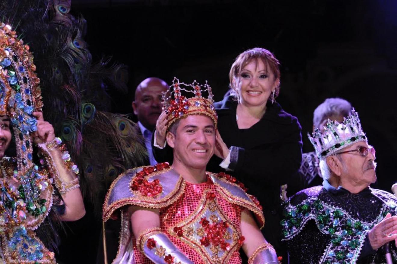 shaba principe carnaval la paz 2016