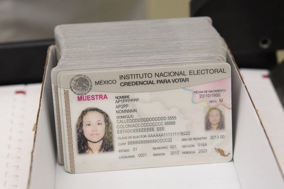 Destruyeron Más De 9 400 Credenciales Para Votar En Baja