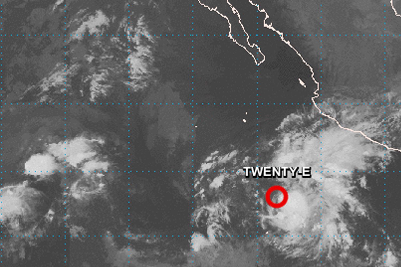 Tormenta Tropical Raymond se forma en el pacífico