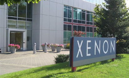 Image result for XENON PHARMA