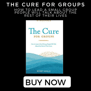 the cure for groups book by Robby Angle