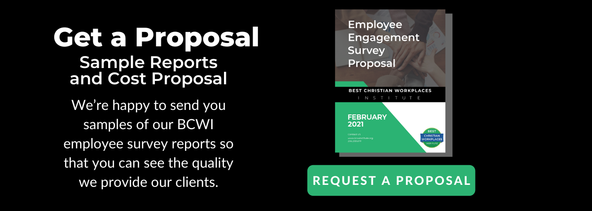 Get a free employee engagement survey proposal from BCWI