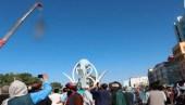 অপহরণকারীদের হত্যার পর ক্রেনে ঝুলিয়ে তালেবানের 'বার্তা'