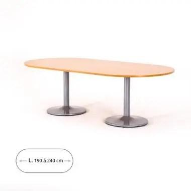 table de reunion ovale zeta