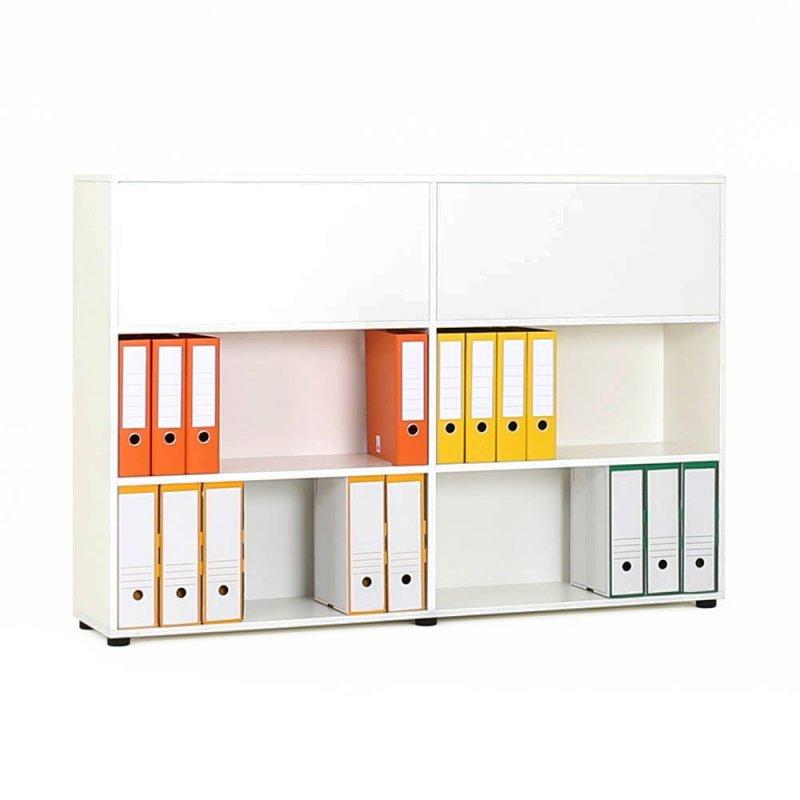 armoire de bureau recto verso en bois