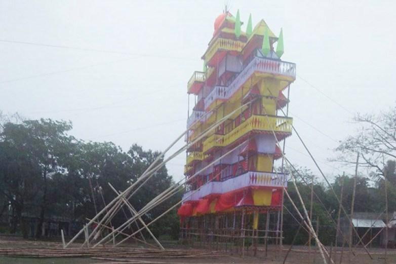 মুন্সীগঞ্জে স্কুলের মাঠ দখল করে ব্যক্তিগত অনুষ্ঠান নিয়ে উত্তেজনা